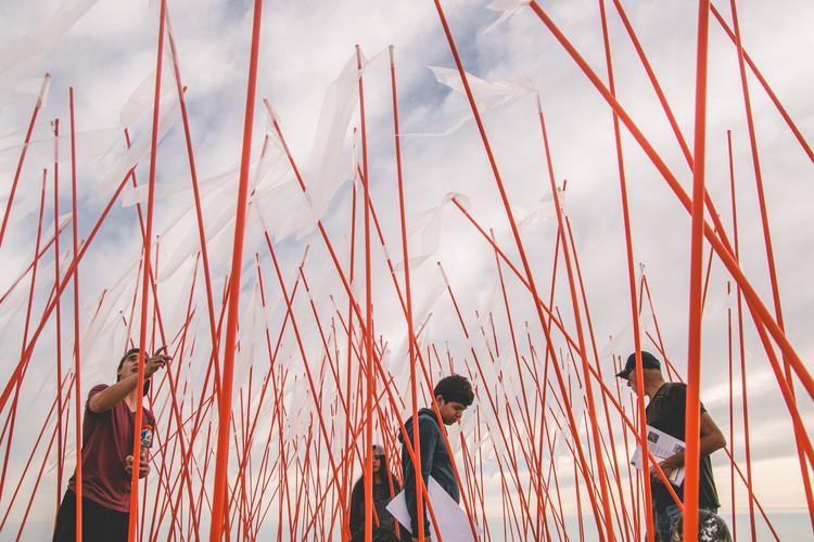 Taller sin aula: aprender arquitectura afuera de los cuatro muros, Dunas de Yani, CCP.. Image Cortesía de Taller I UDD