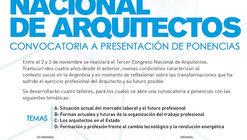 Convocatoria para participar del III Congreso Nacional de Arquitectos en Argentina