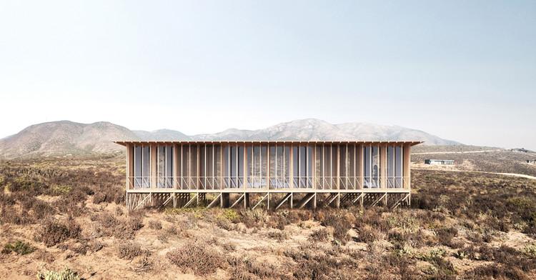 Josep Ferrando se suma al proyecto ochoquebradas con el diseño de una casa y hotel de madera, Cortesía de Josep Ferrando