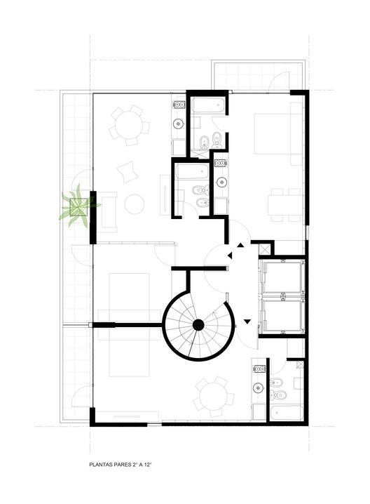Pair Floors Plan