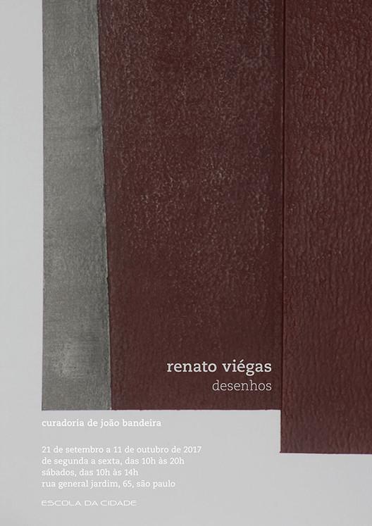 Exposição Renato Viégas - Desenhos na Escola da Cidade, Renato Viégas expõe encáusticas e monotipias na Escola da Cidade