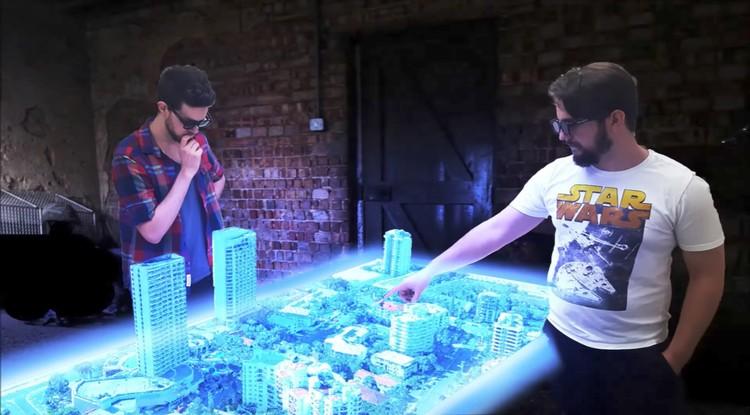 La primera mesa holográfica ya existe y puede ser tuya por 47.000 dólares, Cortesía de Euclideon Holographics