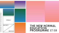 Apply to the Strelka Institute: New Educational Programme Launched