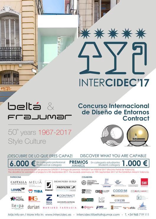 Concurso Internacional de Diseño de Entornos Contract Beltá & Frajumar