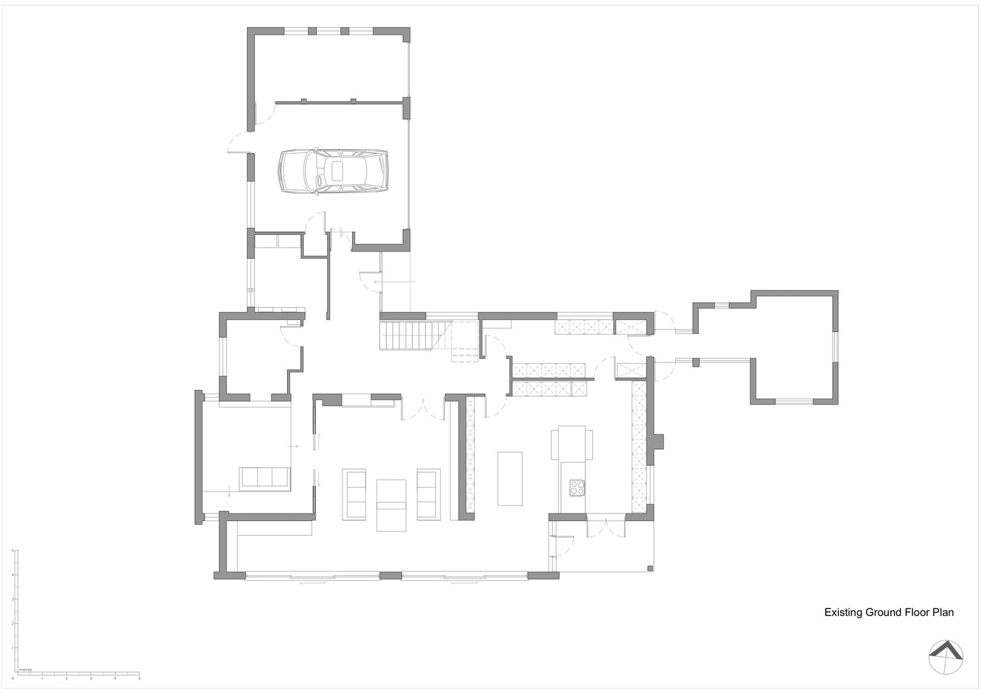How to draw a floor plan of an existing house for Floor plans for existing homes
