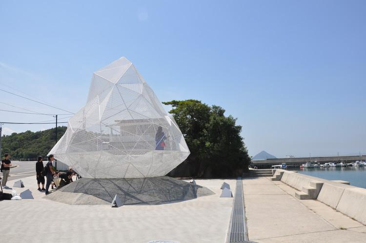 Sou Fujimoto projeta pavilhão em forma de diamante na Ilha das Artes no Japão, © Fernanda Castro