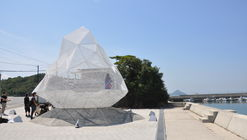 Sou Fujimoto's Polyhedral Pavilion Shapes The Art Island of Japan