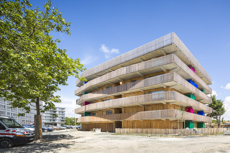 64 Social Housing / Guinée et Potin Architectes + Alterlab Architectes, © Sergio Grazia