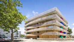 64 Viviendas Sociales / Guinée et Potin Architectes + Alterlab Architectes