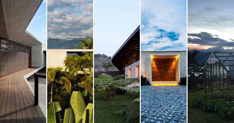 8 viviendas experimentales en los paisajes de Colombia , 8 viviendas experimentales en los paisajes de Colombia. Image