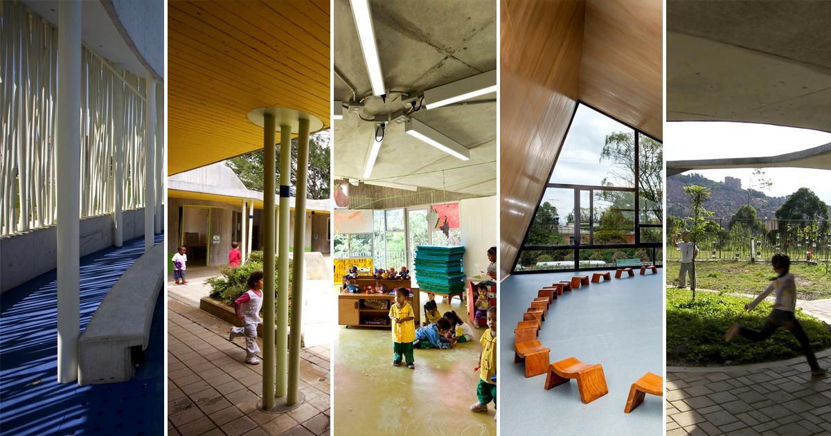 8 espacios educativos para ni os en colombia archdaily for Espacios de oficinas arquitectura