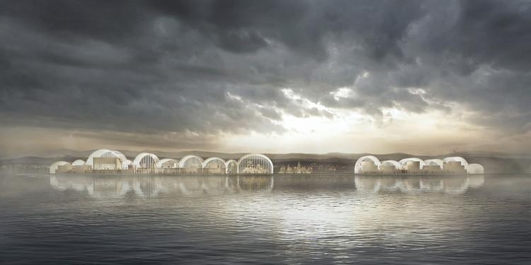 PRÁCTICA + Rodrigo Pérez de Arce presentan diseño para el Centro Antártico Internacional en Chile, Cortesía de PRÁCTICA