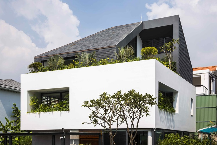White Cube House Mm Architects Archdaily