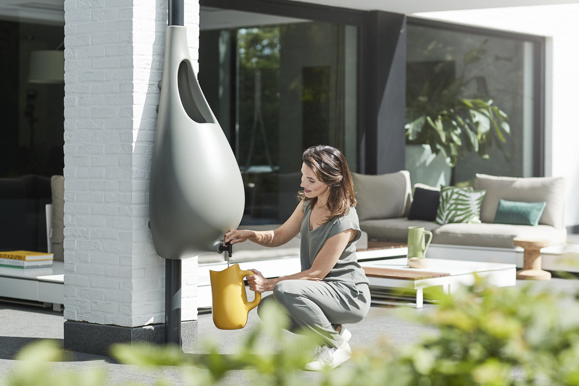 Small Scale Rainwater Harvesting Made Simpler By Studio
