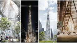"Henning Larsen Architects Reveals Dramatic ""ICONE"" Tower for Manila"