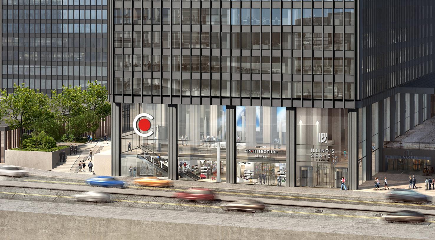 Novo Centro de Arquitetura de Chicago será inaugurado em 2018