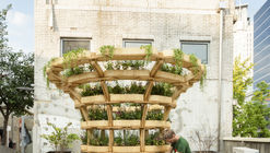 Open Source Plan for a Modular Urban Gardening Structure Offers a Flexible Design for Locally Grown Food
