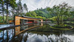 Picchio Visitors Center & Ice Rink  / Klein Dytham architecture + studio on site