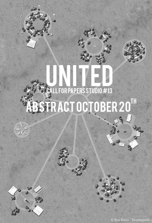 Call for Papers: STUDIO #13 – UNITED, Ross Racine, Morningsand