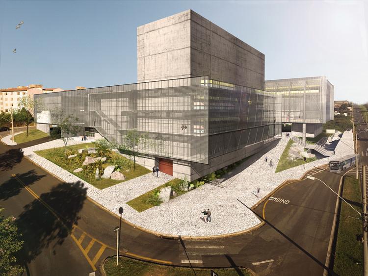 Segundo lugar no concurso para o novo Sesc Limeira, Cortesia de Apiacás Arquitetos