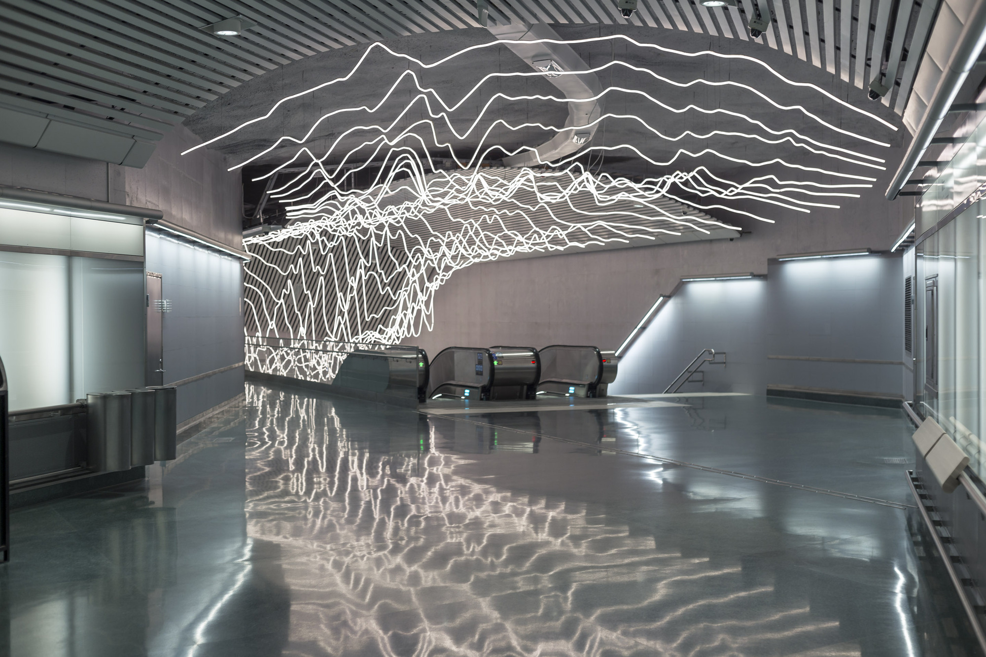 Gallery Of Suspended Led Lighting Installation Projects