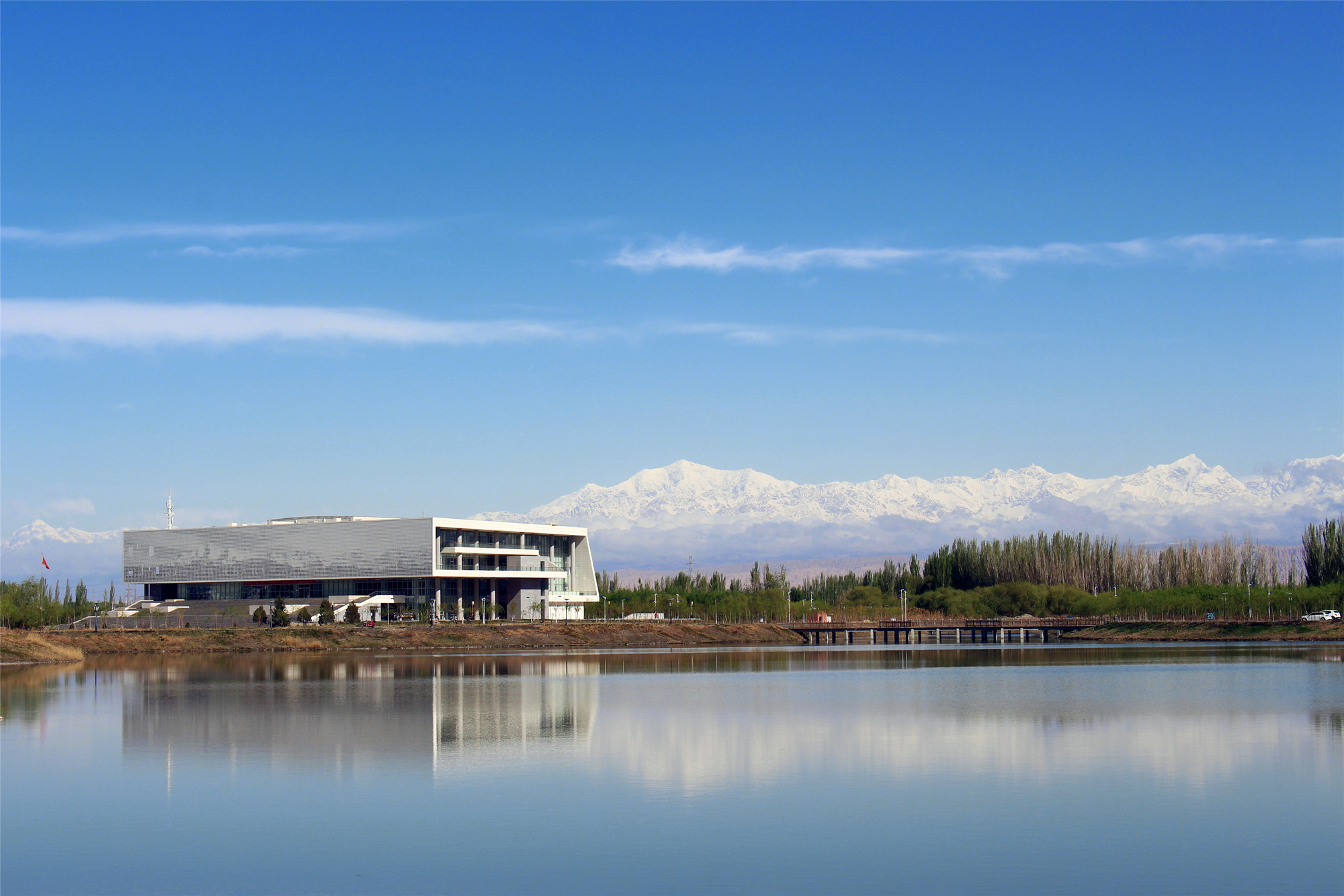 Library Of Xinjiang University Institute Of Science And Technology Thad Archdaily