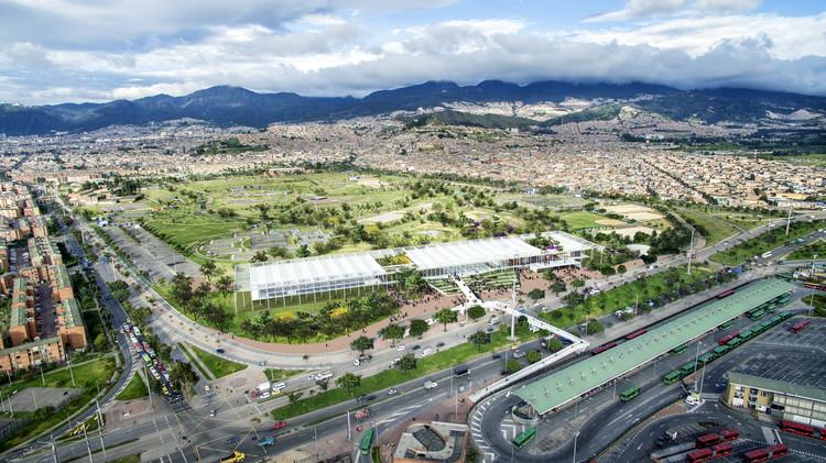 FP Arquitectura diseñará nuevo centro recreativo del Parque Metropolitano El Tunal en Bogotá, Cortesía de FP Arquitectura