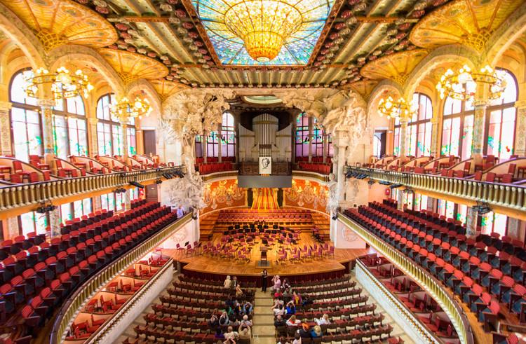 Barcelona, Canet y Reus buscan declarar 2023 como el año de Domènech i Montaner, Palau de la Música Catalana / Lluís Domènech i Montaner. Image © OK Apartment [Flickr], bajo licencia CC BY 2.0