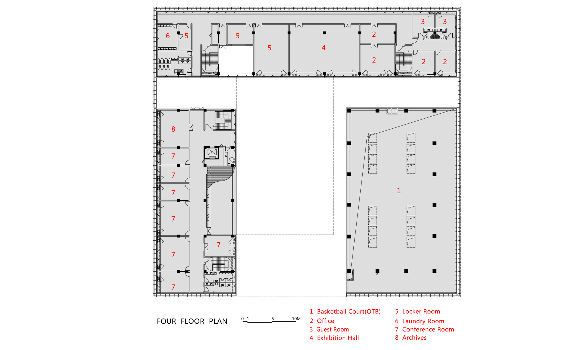 Gallery of fire station of tianfu new district cswadi 23 for Fire station floor plans design