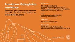 Arquitetura Paisagística em Debate
