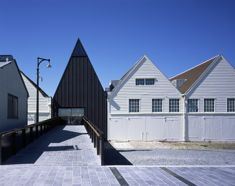 Command of the Oceans / Baynes and Mitchell Architects, © Hélène Binet