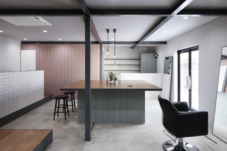 Anfrum Hair Salon / Hidenori Tsuboi Architects, © Daisuke Shima