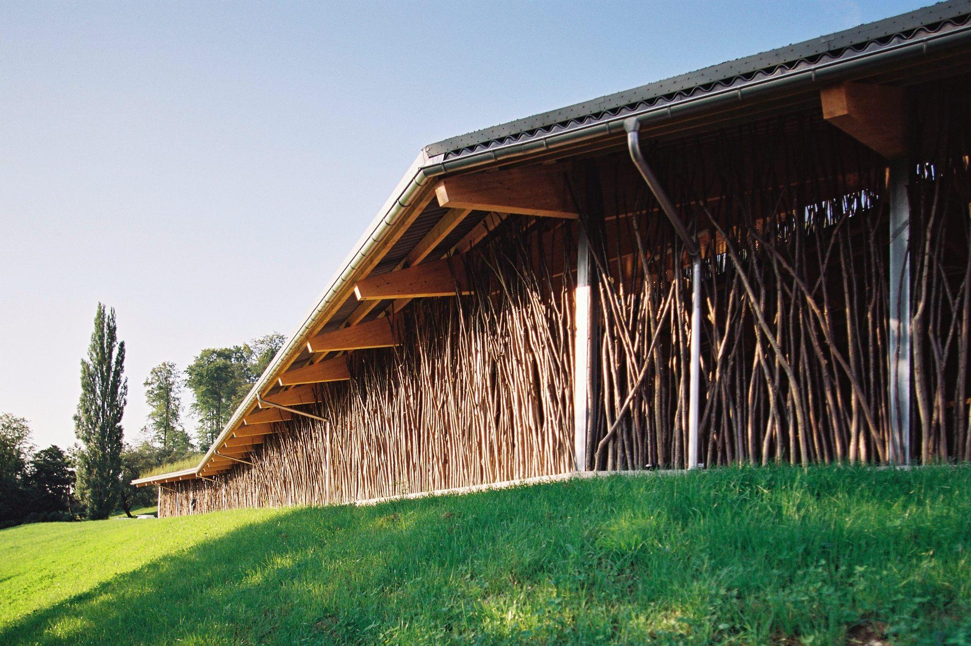 Cow Barn F A B Forschungs Und Architekturb 252 Ro