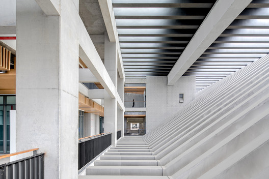 Complex Building Interior