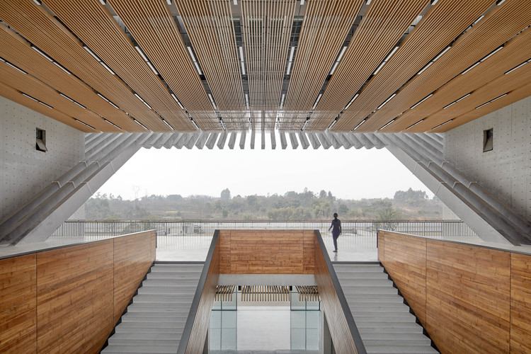 Chengdu Aerospace Superalloy Technology Campus / Tanghua Architect & Associates, Complex Building Interior