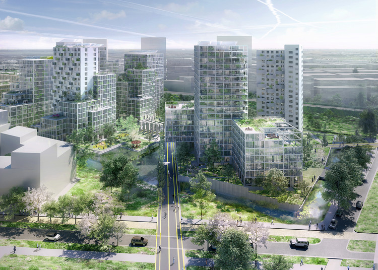 OMA and FABRICations Win Competition to Transform Former Prison Complex in Amsterdam, Image by Robota, Courtesy OMA