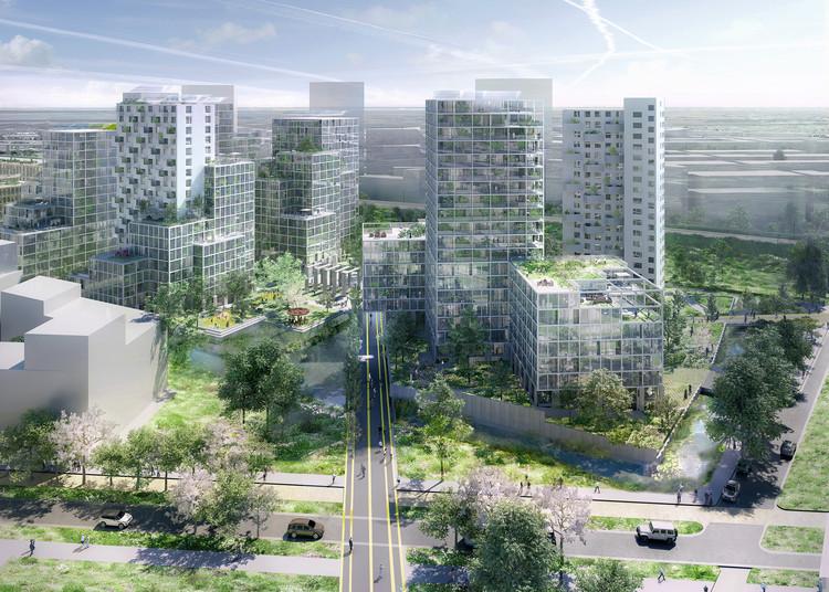 OMA y FABRICations ganan concurso para transformar antiguo complejo penal en Amsterdam, Imagen de Robota, cortesía de OMA