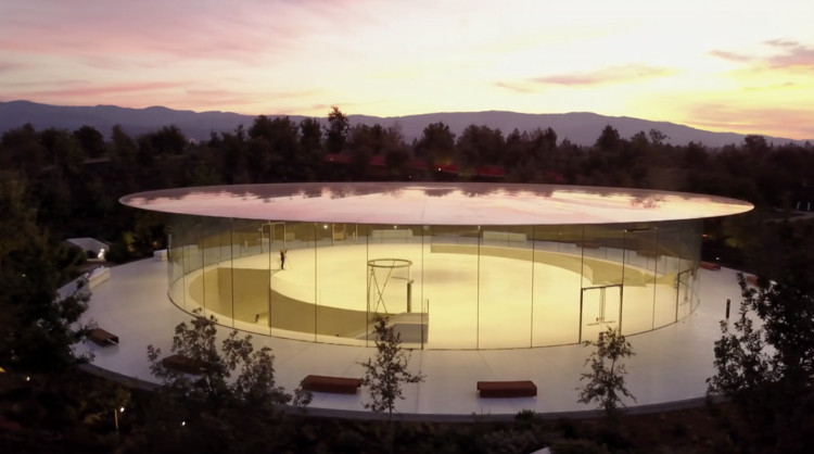 Apple Event Offers First Look into Apple Park's Steve Jobs Theater, via Apple Special Event September 2017