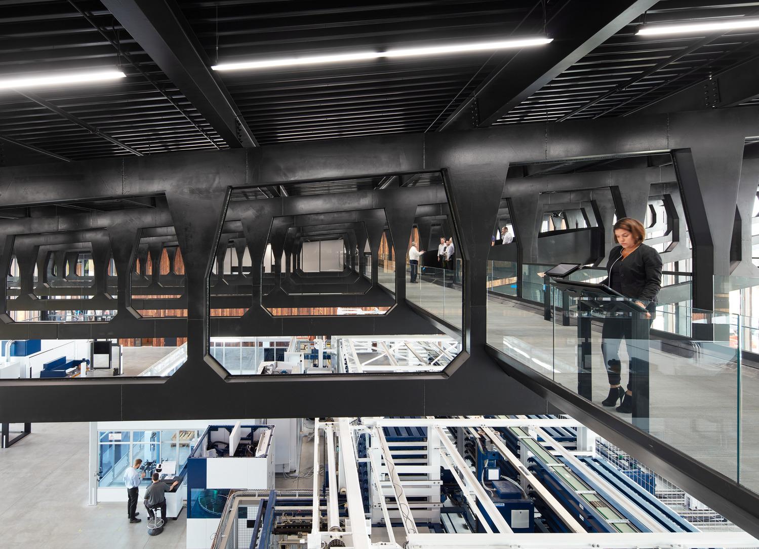 Trumpf Smart Factory Chicago Barkow Leibinger Archdaily