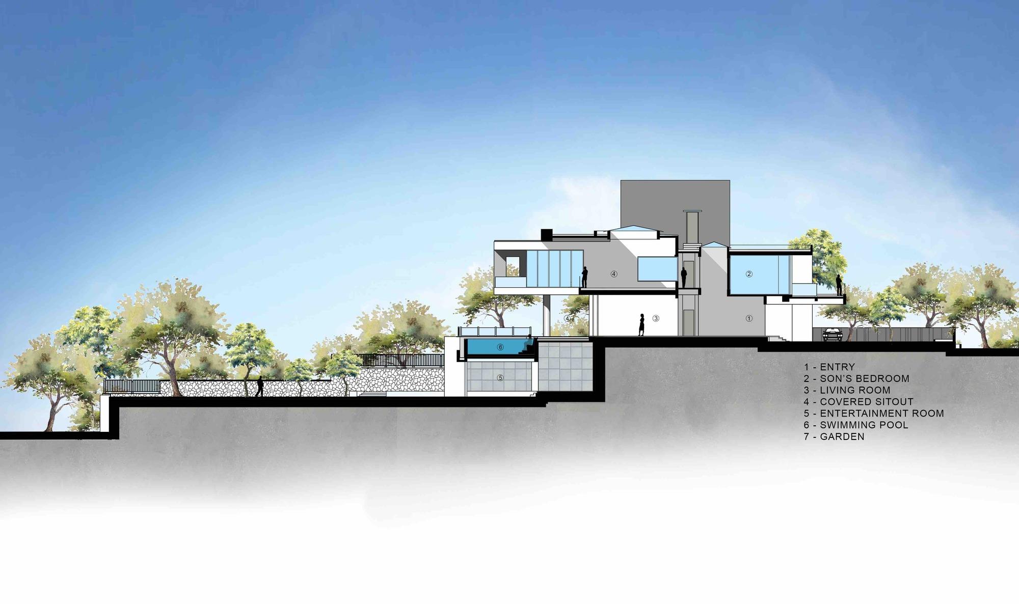 Gallery of Infinity House / GA design - 59