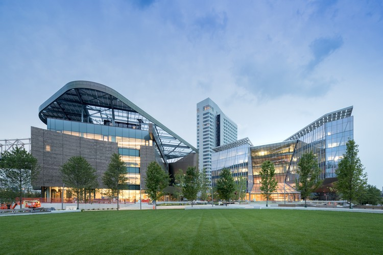 """Campus of the Digital Age"": Cornell Tech Officially Debuts on Roosevelt Island in New York, Cornell Tech Campus. Image © Iwan Baan"