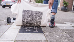 """Pirate Printers"" Turn City Surfaces into Stamps to Create Unique Bags and Streetwear"