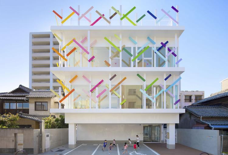 Creche Ropponmatsu Kindergarten / Emmanuelle Moureaux Architecture + Design, © Daisuke Shima