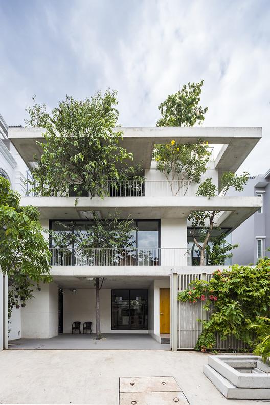 Casa dos jardins empilhados / VTN Architects, © Hiroyuki Oki