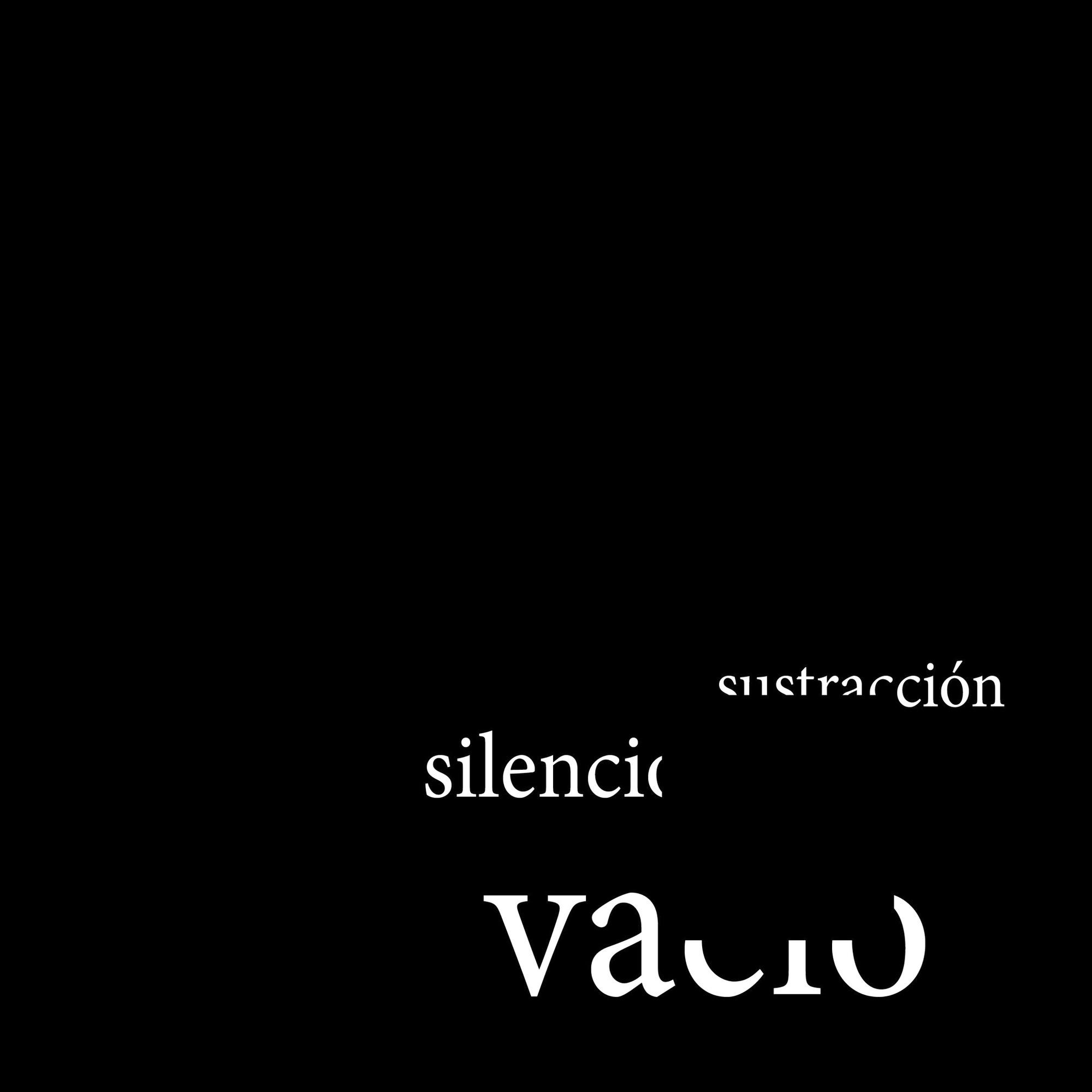 Vacío, Sustracción y Silencio / Ediciones Asimétricas + n'UNDO