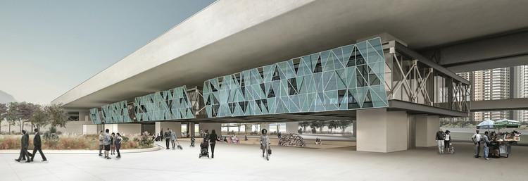 Resultado do 10º Concurso do CBCA para Estudantes de Arquitetura, Cortesia de CBCA