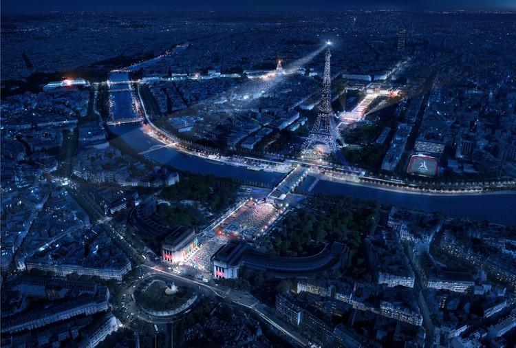 Populous y Egis diseñarán 38 recintos para los Juegos Olímpicos de París 2024, Paris 2024. Image © Paris 2024 (Populous-Luxigon)