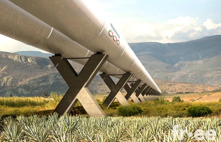 Guadalajara a Ciudad de México en 38 minutos: Fernando Romero gana concurso para crear Hyperloop, Cortesía de FR-EE
