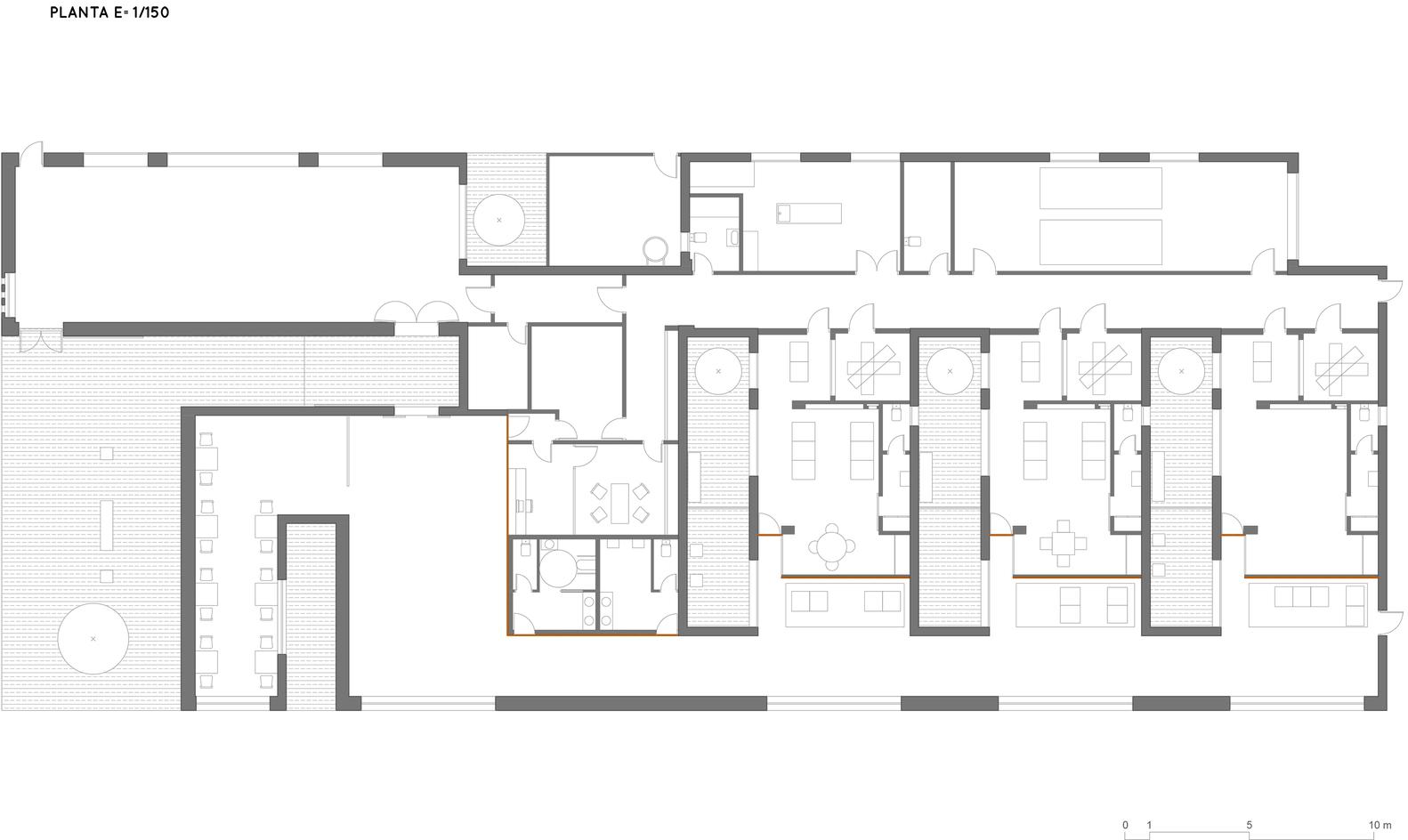 Floor plans funeral homes - Mon Var Funeral Home Ground Floor Plan