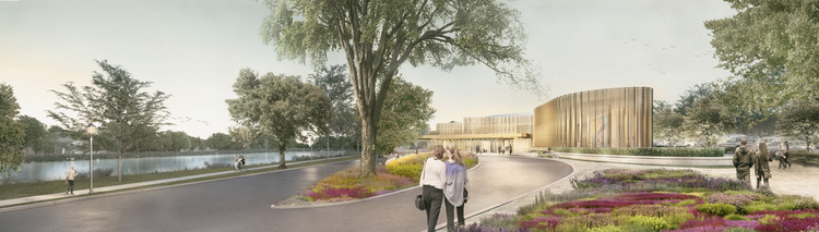 Ethereal Riverside Theatre and Garden To Be Canada's Newest Destination, Courtesy of Hariri Pontarini Architects
